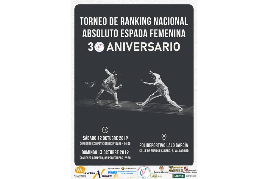 Torneo de Ranking Nacional Absoluto Espada Femenina