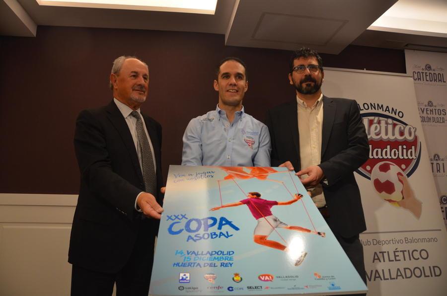 El mejor balonmano de España se reúne en Valladolid para disputar la XXX Copa Asobal