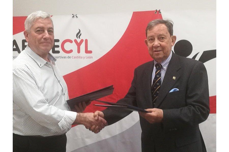 El deporte federado y la Asociación Española de Protocolo estrechan lazos en Castilla y León