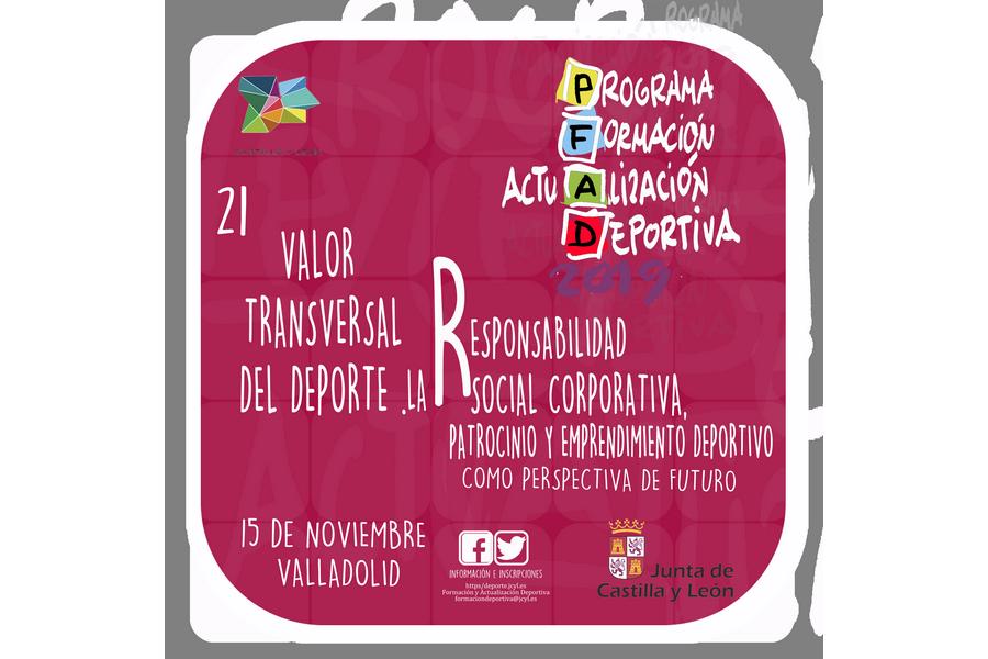 Emprendimiento y responsabilidad social en una nueva jornada de Formación y Actualización Deportiva 2019