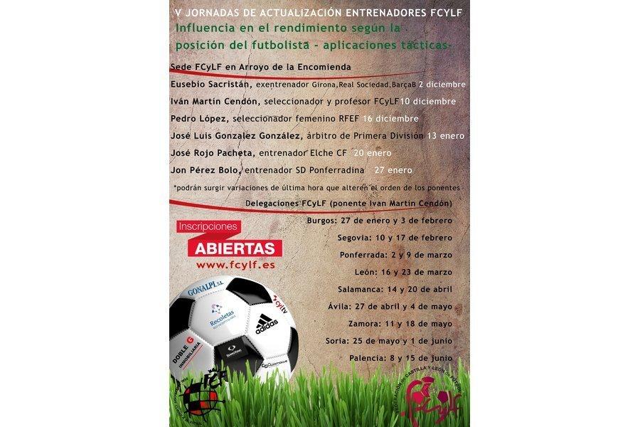 Eusebio Sacristán inaugura las V Jornadas de Actualización para entrenadores de fútbol en la sede de la Federación