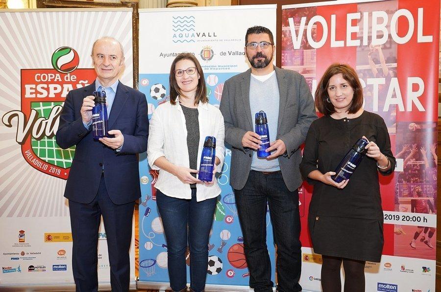 """Valladolid se convertirá en la """"Ciudad del Voleibol"""" con 3.800 participantes de todo el país"""