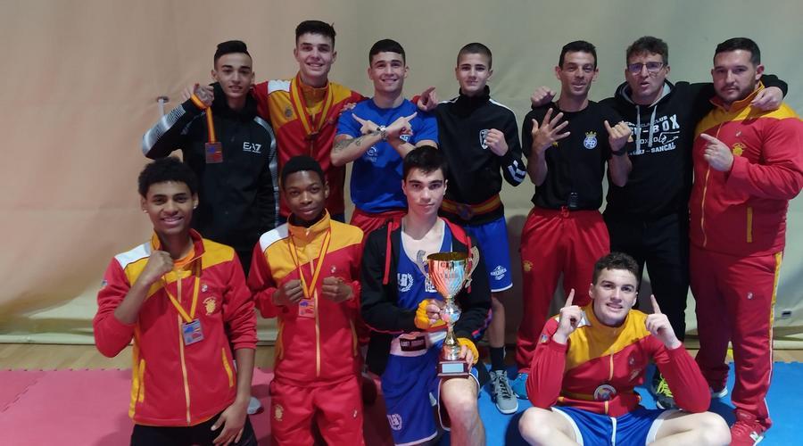 Castilla y León se proclama campeón de España junior de Boxeo consiguiendo seis oros y tres bronces