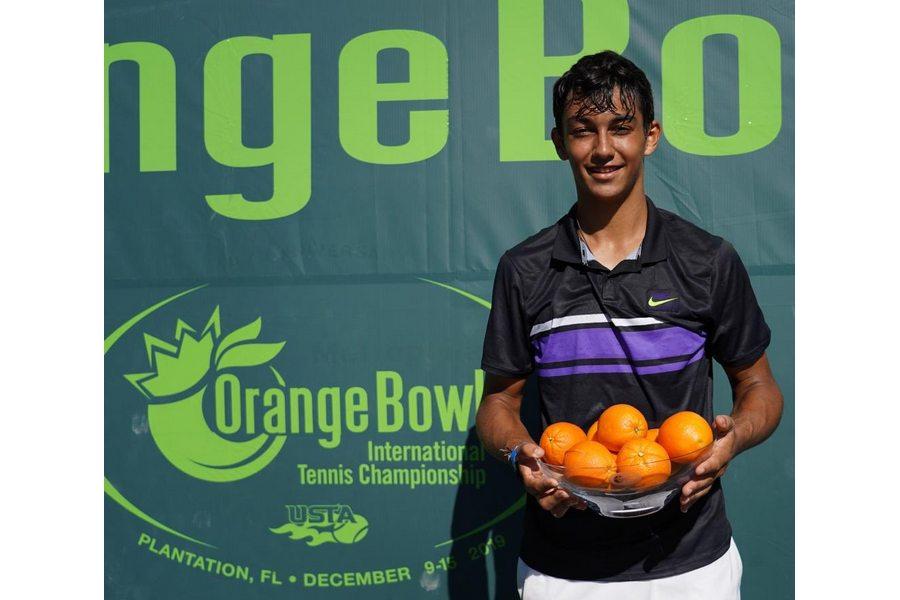 Gran triunfo del abulense Daniel Rincón en Estados Unidos al ganar la Orange Cup de Tenis en individual y dobles