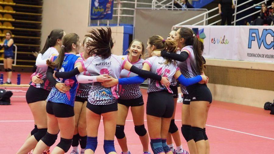 Emoción e intensidad en la segunda jornada de la Copa de España de Voleibol que ha cerrado la primera fase sin sorpresas