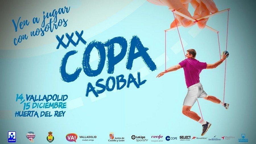 Valladolid acoge la Copa Asobal de Balonmano los días 14 y 15 de diciembre