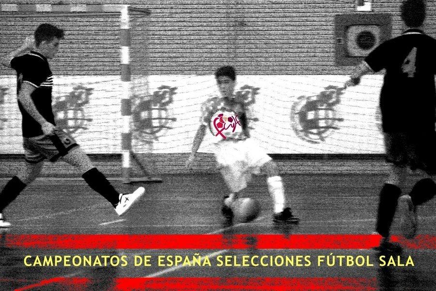 Las Selecciones de Castilla y León de Fútbol Sala viajan a Pamplona para participar en el Campeonato de España