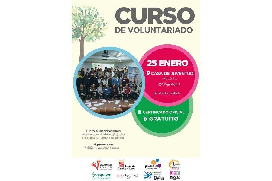 El Programa Joven de Voluntariado de Castilla y León imparte un curso sobre Voluntariado