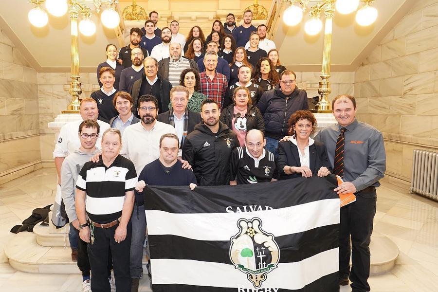 Dos equipos del Club Rugby El Salvador participarán en el Mundial de Rugby Inclusivo en Cork (Irlanda)