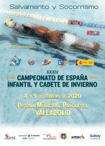 XXXIV Campeonato de España Infantil y Cadete de #Salvamentoy#Socorrismo @ Valladolid. Piscina Parquesol | Valladolid | Castilla y León | España