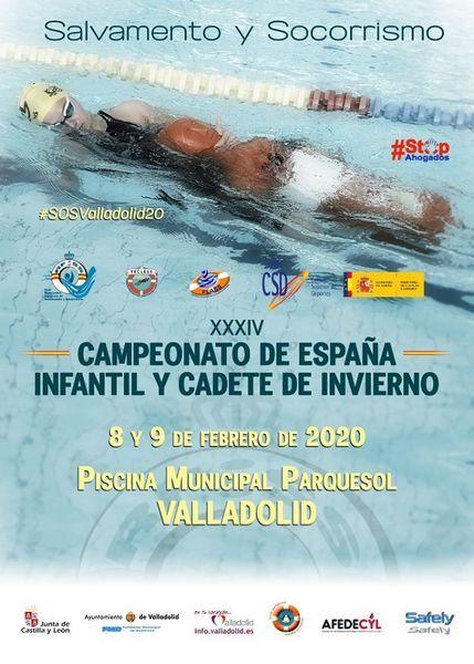 XXXIV Campeonato de España Infantil y Cadete de #Salvamentoy#Socorrismo