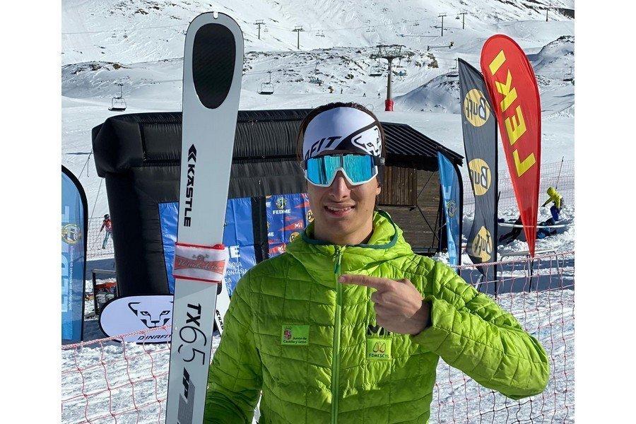 El vallisoletano Javier Gurpegui participa en la Copa del Mundo de Esqui de Montaña en Andorra