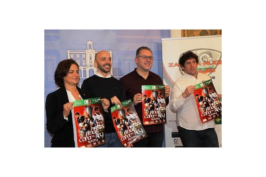 A la venta las entradas para la final de la Copa del Rey de Rugby que se celebra el 26 de abril en Zamora