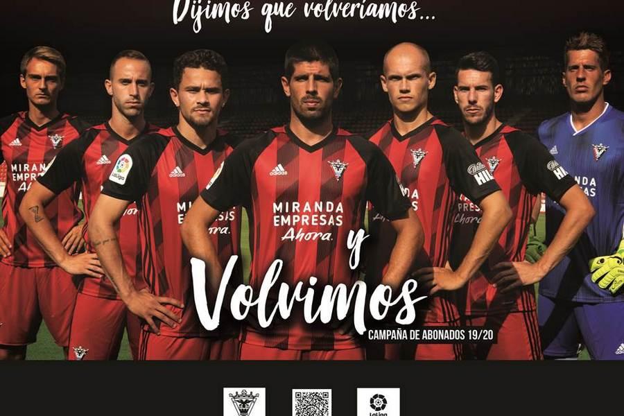El Mirandés se  planta en semifinales de la Copa del Rey de fútbol eliminando al tercer equipo de Primera