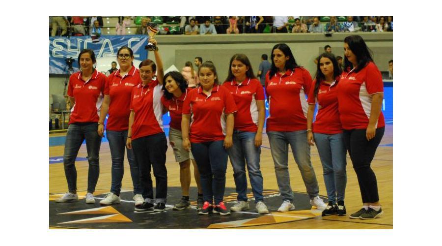 La Copa Princesa de Baloncesto rendirá tributo al equipo femenino adaptado  de Castilla y León