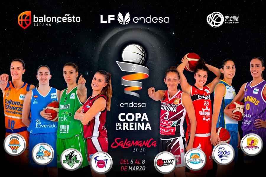 Salamanca preparada para la gran fiesta del baloncesto femenino con la presencia de S.M. la Reina Letizia