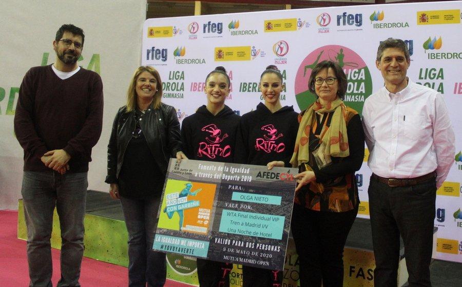AFEDECYL entrega el premio 'La Igualdad me Importa' en la Liga Nacional de Rítmica