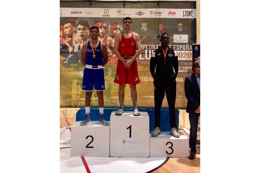 Miguel Cuadrado y Enmanuel Reyes, oro en el campeonato de España de Boxeo de clubes celebrado en Murcia