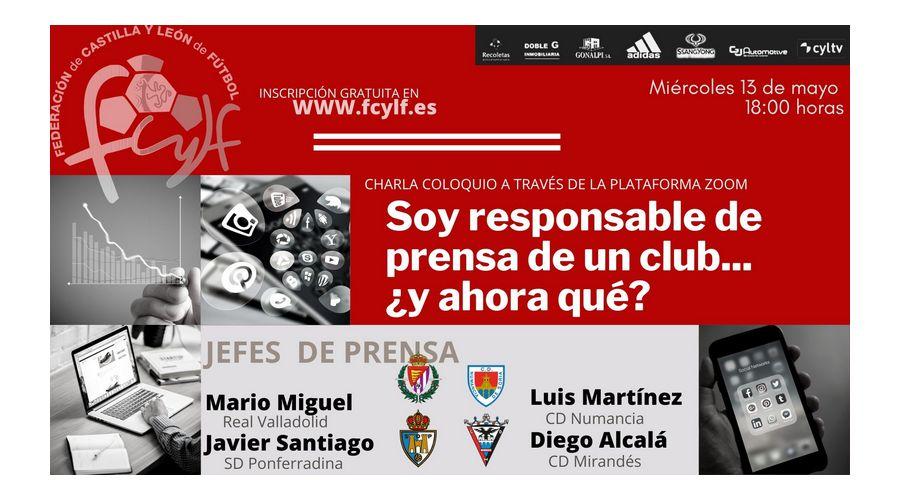 Mesa redonda virtual con los responsables de comunicación de cuatro grandes equipos de fútbol de la región