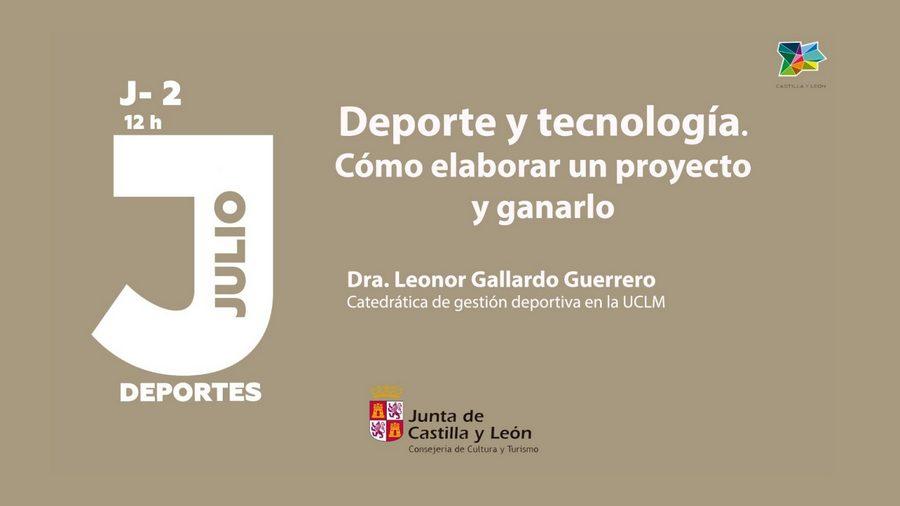 """Webinar """"El Deporte y la Tecnología, como elaborar un proyecto y ganarlo"""", el jueves 2 a las 12 horas"""