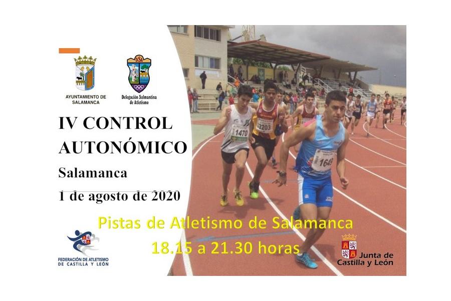 300 atletas participarán en el control autonómico de Atletismo en Salamanca