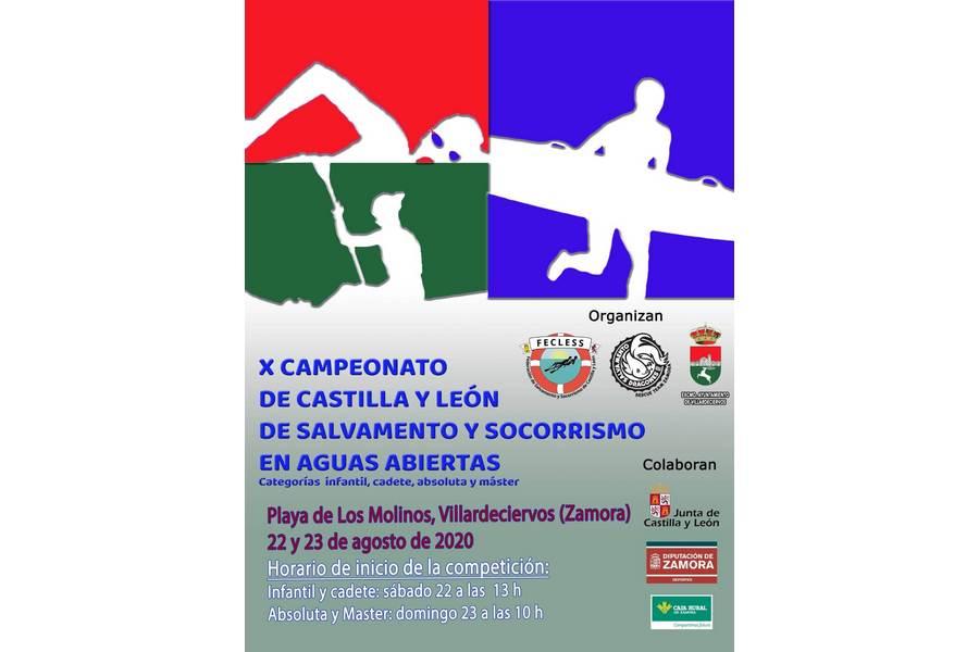 Villardeciervos acoge el X campeonato de Salvamento y Socorrismo de Castilla y León