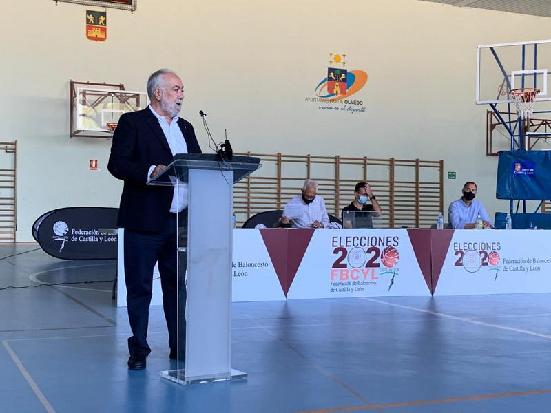 Óscar Castañeda elegido presidente de la Federación de Baloncesto de Castilla y León