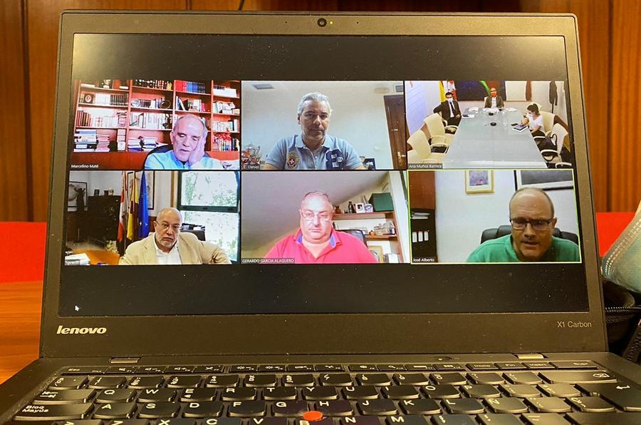 AFEDECYL se reúne con el vicepresidente de la Junta, Francisco Igea, en busca de soluciones para el deporte de Castilla y Leon