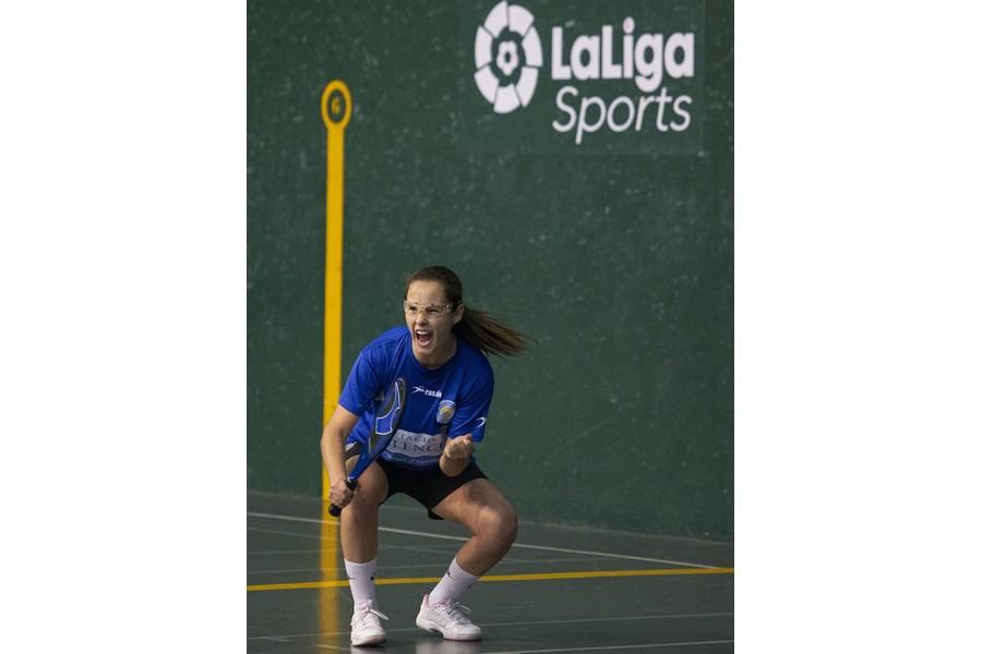 La palentina María Rodríguez, campeona de España de Paleta Goma