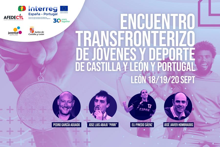 León acoge el Encuentro Transfronterizo de Jóvenes y Deporte organizado por AFEDECYL