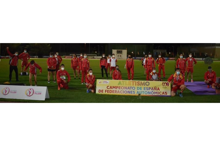 Castilla y León se corona en atletismo ganando el campeonato de España de Federaciones Autonómicas