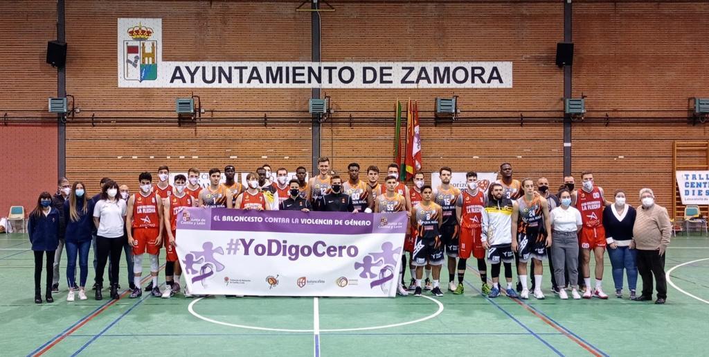 El baloncesto de Castilla y León contra la violencia de género