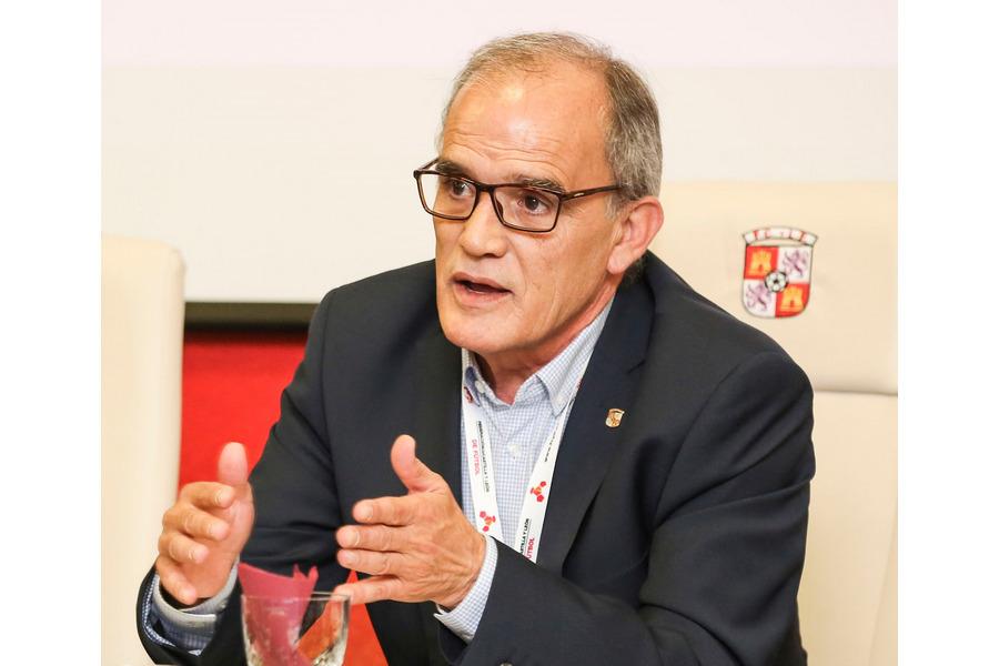 Marcelino Maté, reelegido presidente del fútbol de Castilla y León