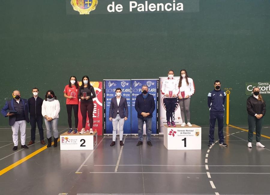 Palencia ha acogido la Copa de España en Frontón de 30 metros  con la presencia de las grandes figuras