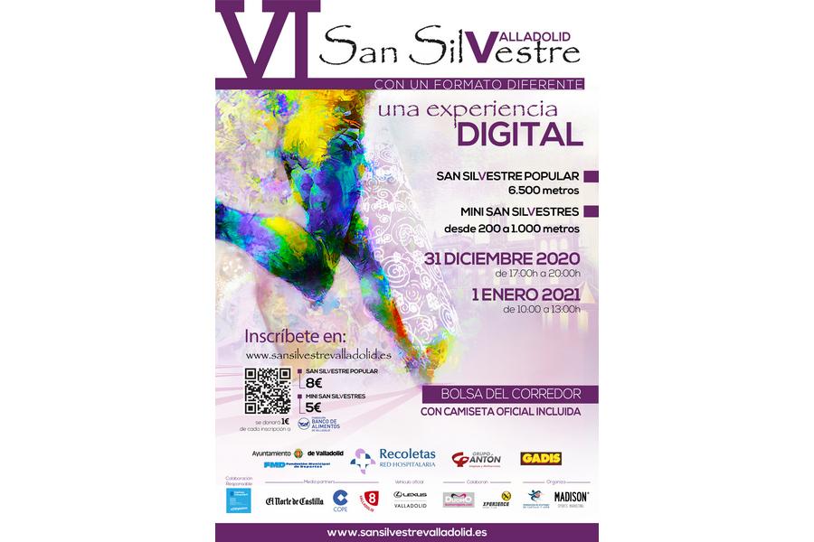 La Federación de Atletismo de Castilla y León organiza la San Silvestre vallisoletana en formato digital