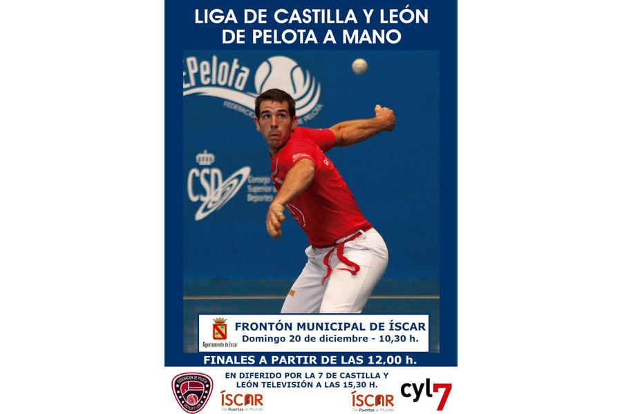 Íscar, (Valladolid) escenario de la final de la Liga de Castilla y León de pelota a mano