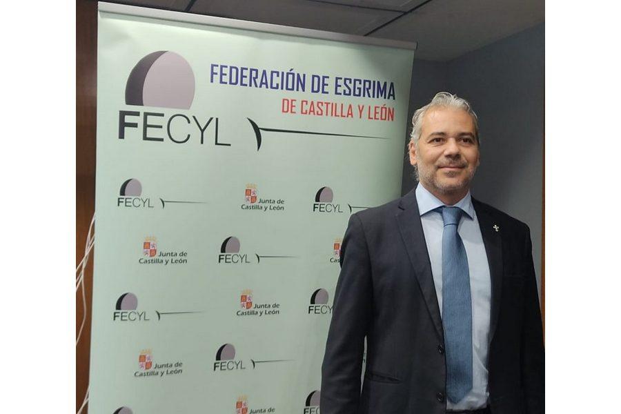 Daniel Bravo, reelegido presidente de la Federación de Esgrima de Castilla y León