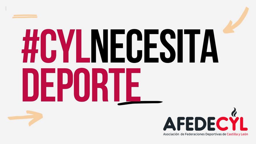 AFEDECYL relanza la campaña de adhesión 'Castilla y León necesita Deporte' para reanudar la actividad deportiva