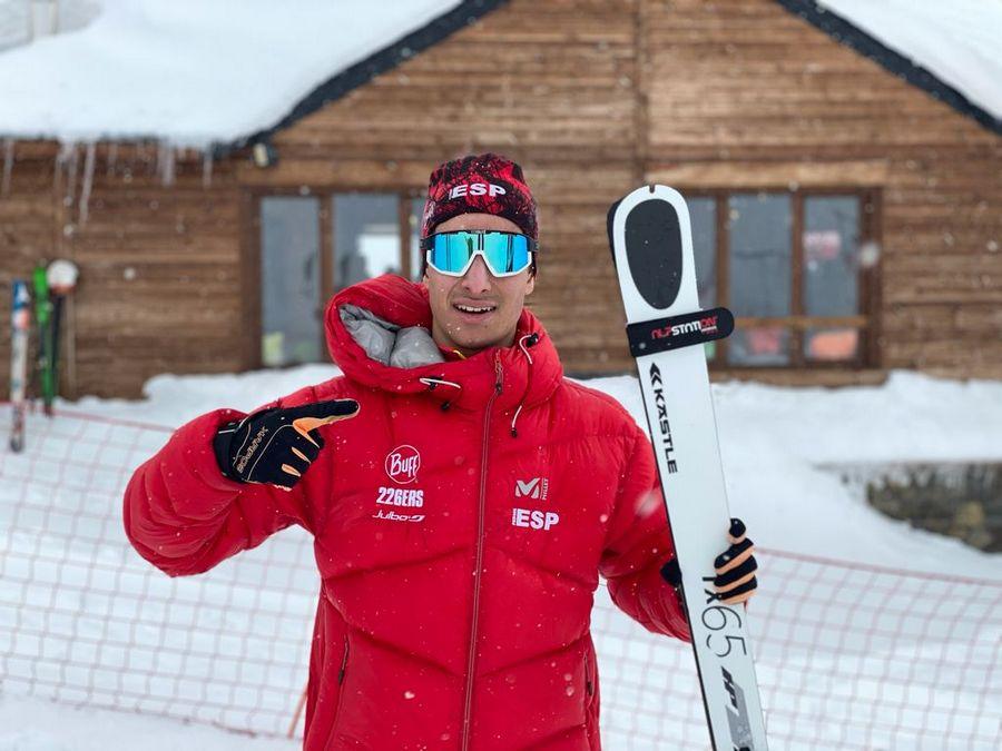 Javier Gurpegui, seleccionado para el Campeonato del Mundo de Esquí de Montaña