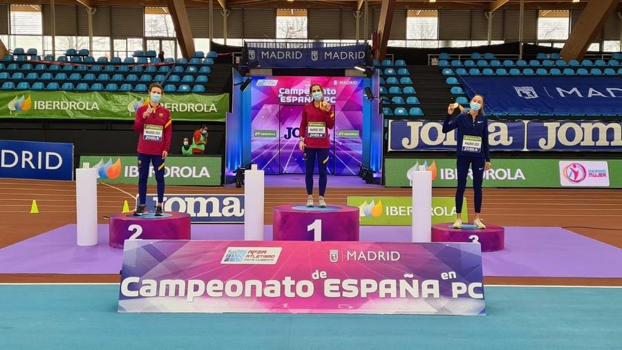 Castilla y León consigue 12 medallas, cinco de oro, en el campeonato de España absoluto de Atletismo