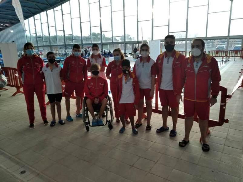 Castilla y León roza el podio en el Campeonato de España AXA de Natación Paralímpica