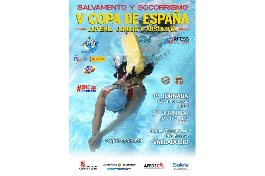 La final de la V Copa de España de Piscina Juvenil, Junior y Absoluta de Salvamento y Socorrismo se disputa en Valladolid