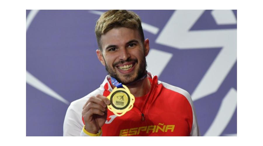 El palentino Óscar Husillos campeón de Europa en 400 metros