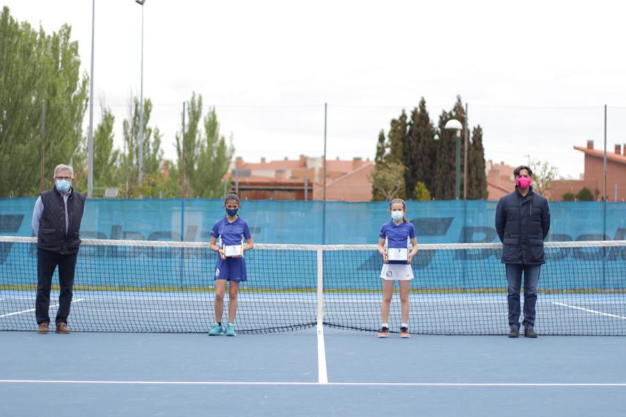 Las pistas de Covaresa han acogido las finales de los Campeonatos Autonómicos de Tenis