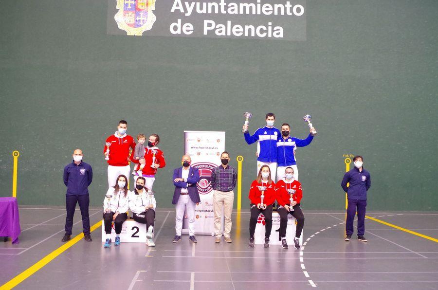 Palencia y Bamar se proclaman campeones autonómicos de frontenis olímpico