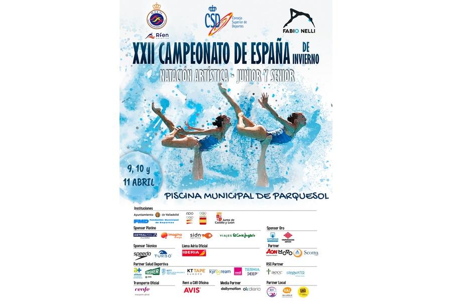 Valladolid acoge el XXII Campeonato de España de Invierno de Natación Artística