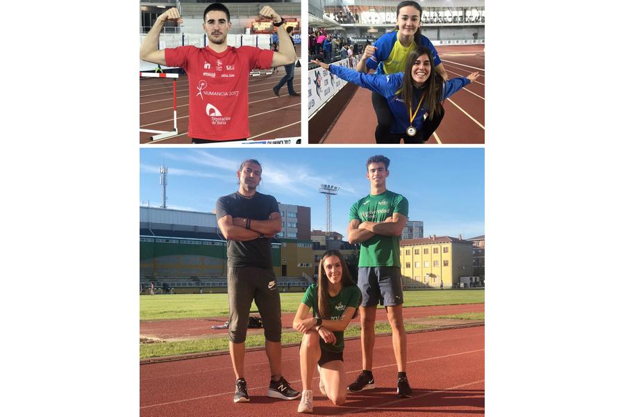El atletismo de Castilla y León intentará subir al podio en el Nacional de pruebas combinadas en Alhama