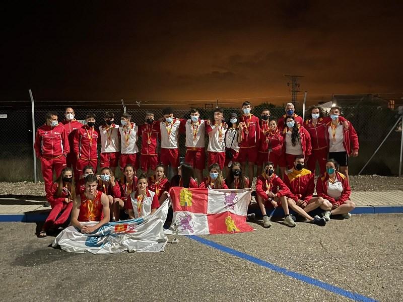 Castilla y León, bronce en el campeonato de España de selecciones autonómicas sub 18.