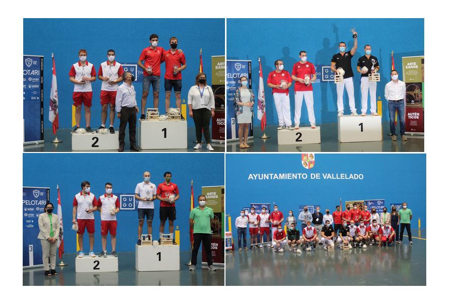 Navarra se proclama campeón de la 82ª Copa del Rey de Pelota en Vallelado (Segovia)