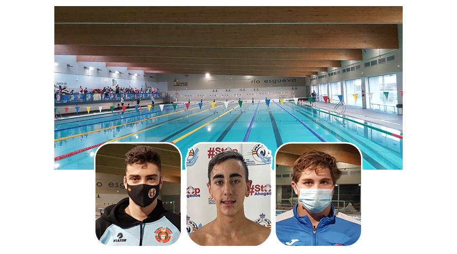 Tres socorristas de Castilla y León convocados para la concentración de piscina en el Centro de Alto Rendimiento de Sierra Nevada